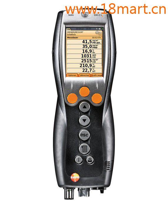 testo 330-1 LL便携式烟气分析仪