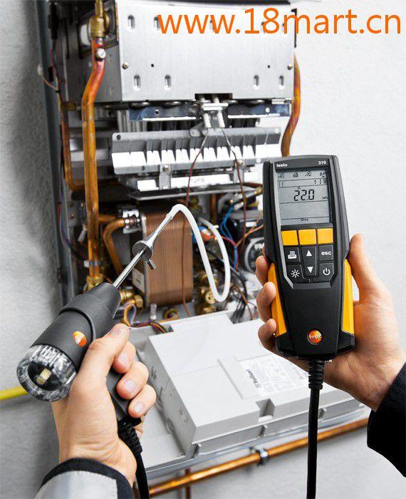 testo 310经济型烟气分析仪套装