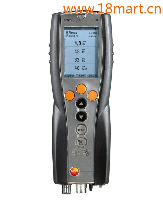 testo340手持式烟气分析仪